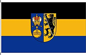 Flagge Fahne Kleinflagge Landkreis Lichtenfels - 40 x 60cm