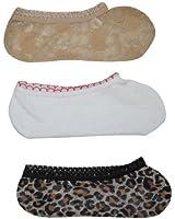 3 PACK: Damen komfortabel & Warm Low Cut Boat Socks