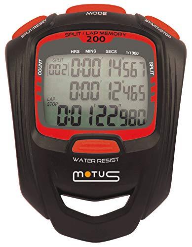 Motus Cronómetro Deportivo 200 intertiempos intervales