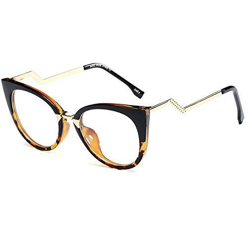 Neu Jahrgang Stilvoll Übergroß Lesebrille Katzenauge Brille Biege Rahmen