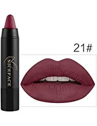 Bluestercool Rouge à Lèvres Mat Brillant Maquillage à Lèvres 24 Couleurs