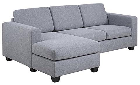 Sofa 2-sitzig Chaise