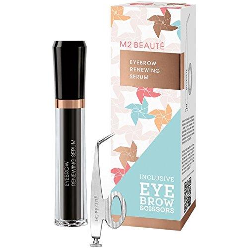 M2 Beauté - M2 Summer Eyebrow Renewing Serum & Eyebrow Scissors - Gesichtspflegeset - 5ml+1Stück -