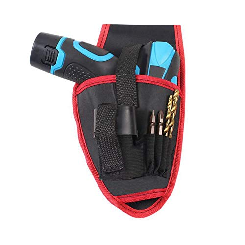 JingHai Portable Waterproof Drill Holder Pouch Cordless Tool Oxford Cloth Drill Waist Belt Tool Bag - Drill-pouch
