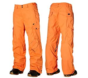 O'Neill Escape Exalt Mens Snow Ski Pants (Tangelo, 2XL)