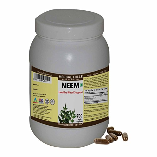 Herbal Hills Neem 700 Vegie Capsules