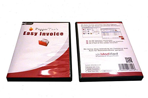 Preisvergleich Produktbild Rechnungsprogramm Kleinunternehmer - Angebote, Rechnungen, Gutschriften