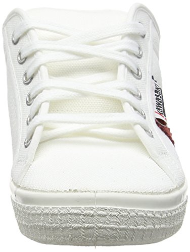 Kawasaki Slam Canvas, baskets sportives mixte adulte blanc (WHITE)