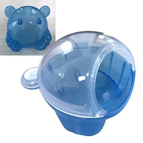 POPETPOP Hamster Haus-Kleintier Kunststoff Hamster Bad Bad Sand Sauna WC Badewanne für Maus, Syrischer Hamster, Chinchilla, Ratte, Rennmaus und Zwerghamster -
