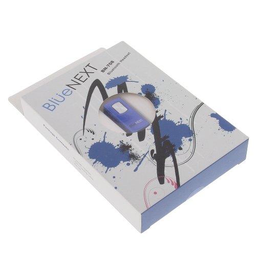 foto-kontor Bluetooth Headset BN78 blau für Palm Treo Pro 850 Centro Treo 500v Treo 650 Treo 680 Treo 750v Pre Pixi Plus Palm Centro Treo 680