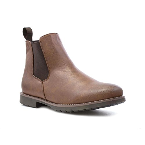 Beckett Mens Tan Chelsea Boot - Size 8 UK - Brown