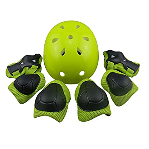 Teckpeak Sports Protective Gear Safety Pads Safeguard Knee Elbow Wrist