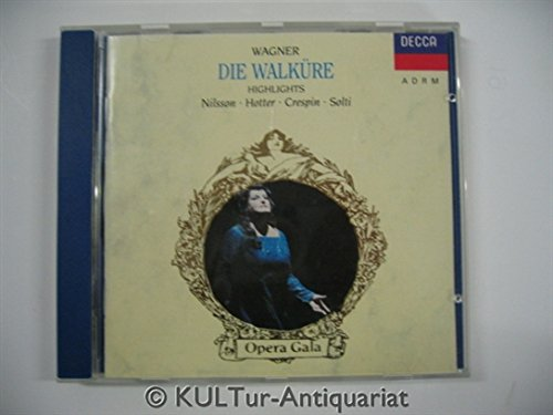 Wagner-la Walkyrie-Extraits-R.Crespin-J.King-l.Ludwig-Solti-