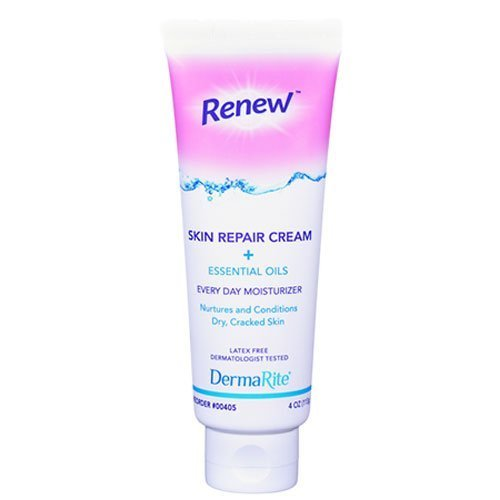 Renew Skin Repair Cream + Essential Oils 4oz by Dermarite Industries
