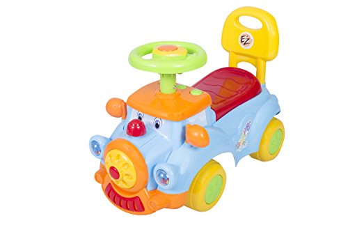 Ez' Playmates Baby Ride On Dream Car Blue