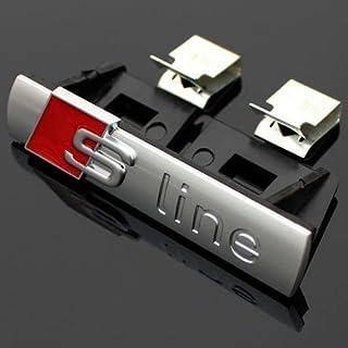 Audi A4 S-Line Schriftzug / Clip für Kühlergrill