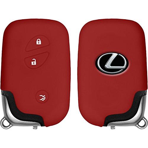 phonenatic-funda-de-silicona-para-mando-de-3-botones-de-lexus-es-gs-gx-en-rojo-llave-plegable-de-3-k