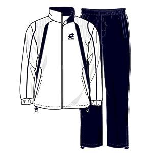 Lotto Sport Suit Seed Mi B, Jungen, white/navy