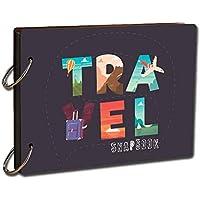 PAPER PLANE DESIGN DIY Travel Scrapbook Photo Album Diary