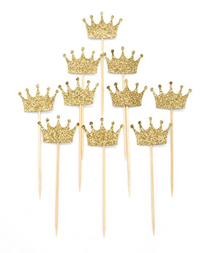 putwo-cake-toppers-10-conteggi-a-mano-gold-crown-shape-wedding-birthday-party-cake-decorating-oro