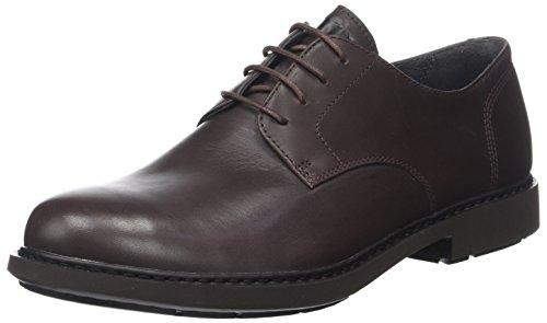 Camper Neuman, Zapatos de Cordones Derby para Hombre, Marrón (Dark Brown 200), 42 EU