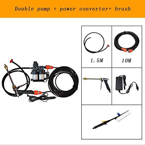 FENG Konstanter Hochdruckstrahl Hochdruckreiniger,mit Doppelpumpe, für Fahrräder, Autos und Gartenmöbel,C
