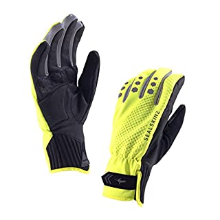 SEALSKINZ 100 Percent Waterproof Unisex Glove - Windproof and Breathable - Suitable for Cycling, Commuting in All Weather Conditions