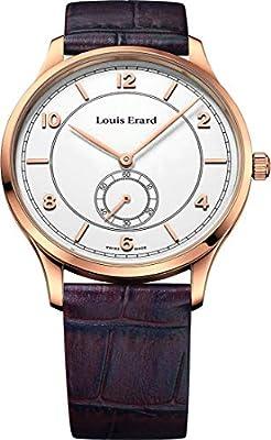 Louis Erard Watch Analogue Display and Strap 47217PR51_ESFERA-40 MM