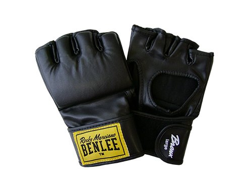 BENLEE Rocky Marciano Boxhandschuhe Bronx, Schwarz, M, 197025-1000