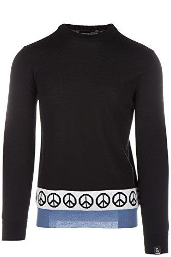 Love Moschino maglione maglia uomo girocollo nero EU M (UK 38) M S 4U7 00 X 0478 40