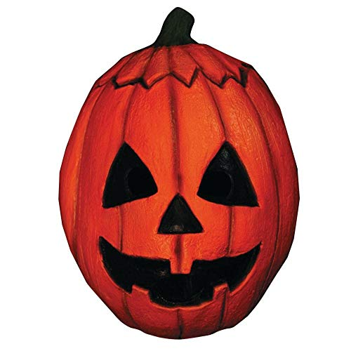 e mahal740-Maske Latex Erwachsene Pumpkin-Halloween III-Einheitsgröße ()