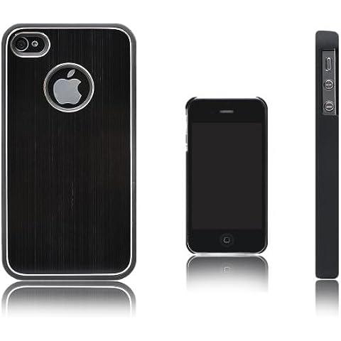 Xcessor-Cover rigida in metallo per Apple iPhone 4/4S, colore: