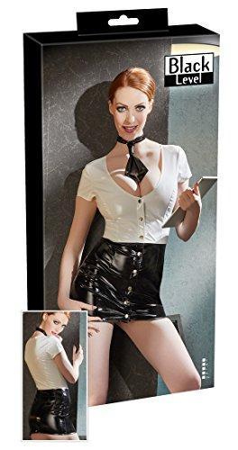 Preisvergleich Produktbild Black Level Vinyl Secretary Kleid, Medium