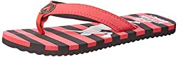 Airwalk Boys Flip Flop Red Synthetic Flip-Flops and House Slippers - 2C UK