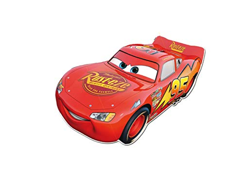 Verbetena, 014000997, Super Silhouette Disney Cars, Party und Geburtstag Dekoration (Geburtstag Party Cars)