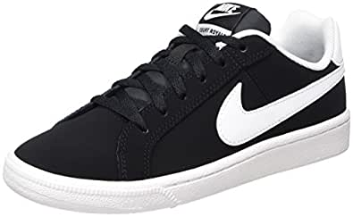 Nike Boy's Court Royale (GS) Black/White Tennis Shoes-3.5 UK/India (35.5 EU) (833535-002)