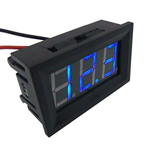 """Preisvergleich Produktbild Mintice™ 0.56"""" DC 4.5V-30V Mini Digital Voltmeter Spannungsprüfer Spannungsanzeige Messbereich Blau LED Licht Auto Motorrad KFZ"""