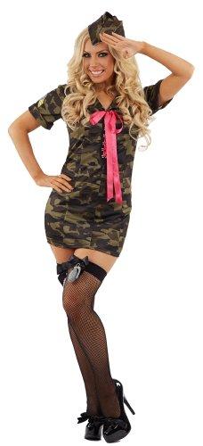 Jane GI Army Camouflage-Kostüm-S - Gi Jane Kostüm