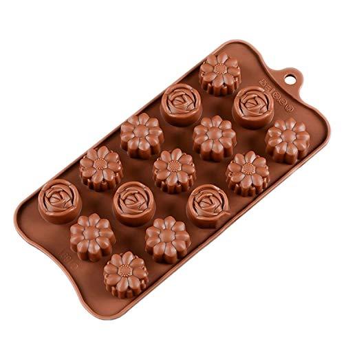 3D-Schokoladenform aus Silikon zum Backen, Antihaftbeschichtung, Pudding und Zuckerguss, 22,5 x 10,5 x 1,5 cm Pudding Swag