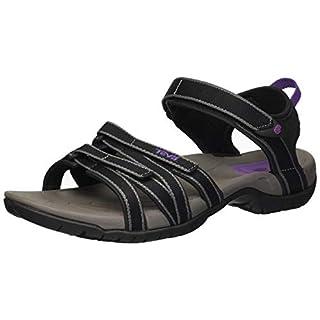 Teva Women's Tirra Sports and Outdoor Lifestyle Sandal, Black/Grey, 5 UK (38 EU)
