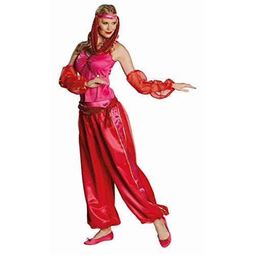 Orientalisches Kostüm Orient Prinzessinkostüm M 40 Bauchtanz Damenkostüm Jeanie Bauchtanzkostüm Karnevalskostüme Damen Sexy Haremsdame Faschingskostüm Bauchtänzerin Haremskostüm