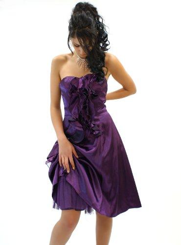 Elegante singolo pezzo cocktail vestimento in diversi colori Viola