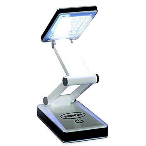 Lampe de Bureau 24 LED - Pliable - Alimentation à piles/USB