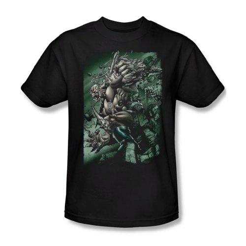 Superman Doomsday distruzione maglietta da uomo-in Nero Black XXX-Large