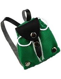 Rucksack Tasche - grün - Miniatur / für Puppenstube Puppenhaus - Maßstab 1:12 - Wanderrucksack / Wandern - Wanderurlaub... preisvergleich bei kinderzimmerdekopreise.eu