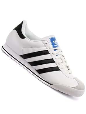 78ae30ba179 Adidas Originals Kick White Black Blue Leather Trainers Mens Size 9 UK   Amazon.co.uk  Shoes   Bags
