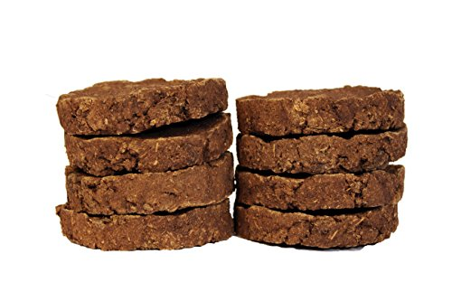 ivee international™ 100% Cow Dung Cakes (Cow Gobar) for Hawan and Indian Rituals (8, Hawan Cow Dung Cake 110 mm)