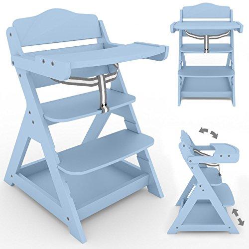 2in 1seggiolone per bambini seggiolone seggiolone in legno per bambini sedia seggiolone baby seggiolone per bambini in legno, da ripiano pieghevole, colori vari