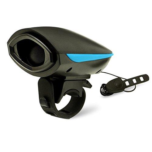 Agapo Fahrradhorn Fahrradhupe Fahrradklingel mit 2 Tönen bis zu 140 dB Wiederaufladbare USB Kabel