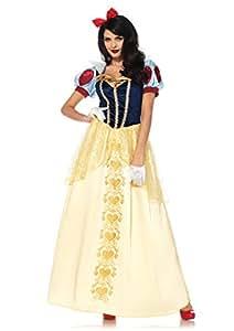 Leg Avenue 855732pezzi Set biancaneve Deluxe, Costume di Carnevale, per donna, S, multicolore